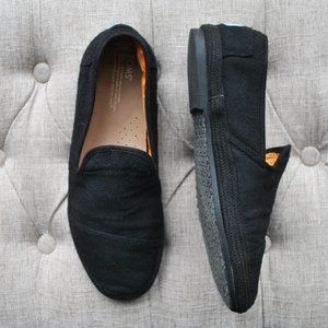 TOM's Black Men's Loafers Flats